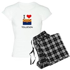 I Love Tolleson Arizona Pajamas