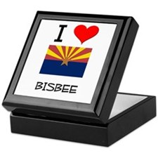 I Love Bisbee Arizona Keepsake Box