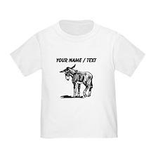 Custom Donkey Sketch T-Shirt