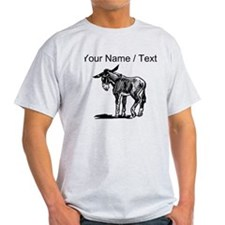 Custom Donkey Sketch T-Shirt