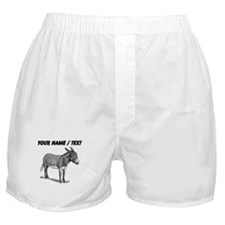 Custom Mule Sketch Boxer Shorts
