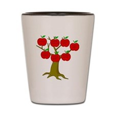 Family Tree Occupations Shot Glass