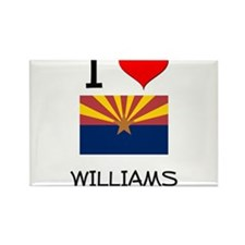 I Love Williams Arizona Magnets