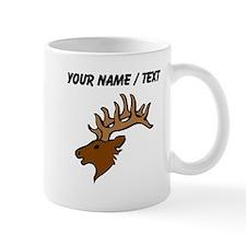 Custom Reindeer Head Mugs
