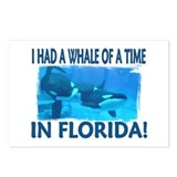 ...Whale Of A Time... Postcards (Package of 8)