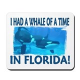 ...Whale Of A Time... Mouse Mat