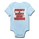 Mommy's & Daddy's Valentine Infant Creeper