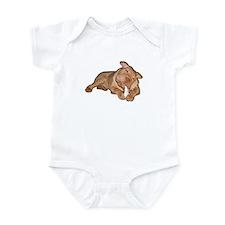 Chinese Shar Pei Dog Infant Bodysuit