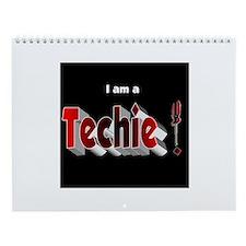 Techie Wall Calendar
