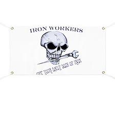 IRON SKULL Banner