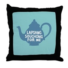 Lapsang Souchong Throw Pillow