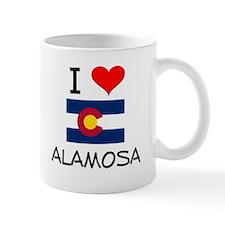 I Love Alamosa Colorado Mugs