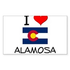 I Love Alamosa Colorado Decal