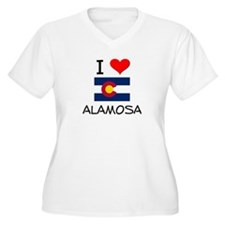 I Love Alamosa Colorado Plus Size T-Shirt
