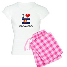 I Love Alamosa Colorado Pajamas