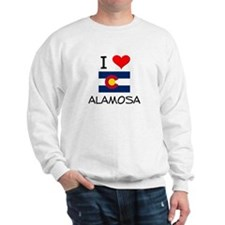 I Love Alamosa Colorado Sweatshirt