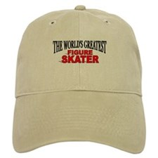 """The World's Greatest Figure Skater"" Baseball Cap"