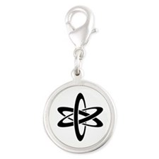 Science Symbol Ideology Silver Round Charm