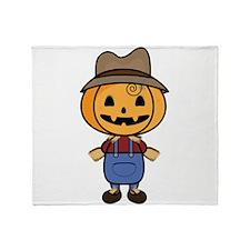 Mr. Scarecrow Throw Blanket