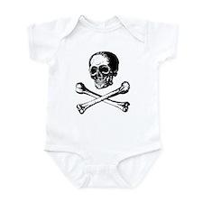 Skull and Crossbones Infant Bodysuit