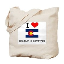 I Love Grand Junction Colorado Tote Bag