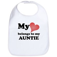 My Heart Belongs To My Auntie Bib