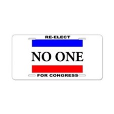 Cute Congress Aluminum License Plate