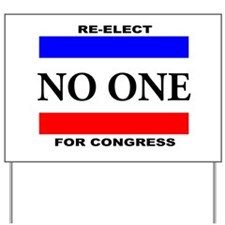 Unique Congress Yard Sign