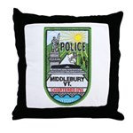 Middlebury Police Throw Pillow
