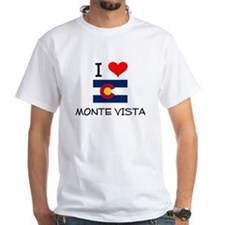 I Love Monte Vista Colorado T-Shirt