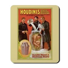 Houdini Milk Can Mousepad