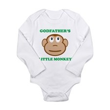 Godfathers Little Monkey Body Suit