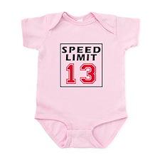 Speed Limit 13 Onesie