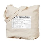 Grammar Peeves Tote Bag