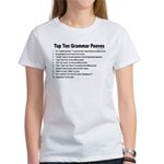 Grammar Peeves Women's T-Shirt