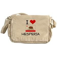 I Love Hesperia California Messenger Bag