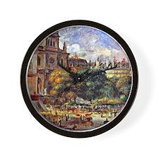 Renoir - Church of the Holy Trinity in  Wall Clock