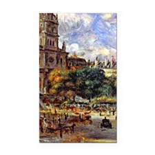 Renoir - Church of the Holy T Rectangle Car Magnet