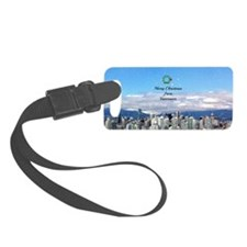 Merry Christmas from Vancouver - Luggage Tag