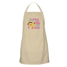 Mad Chick 3L Breast Cancer Apron