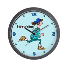 I love running Wall Clock