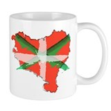 Painted Basque Country Coffee Mug