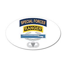 SF Ranger CIB Airborne Wall Decal
