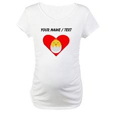 Custom Baby Chick Heart Shirt