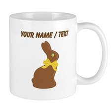 Custom Chocolate Bunny Mugs
