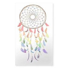 Rainbow Native American Dream  Decal