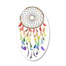 Rainbow Native American Drea Wall Decal