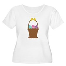 Easter Basket Plus Size T-Shirt