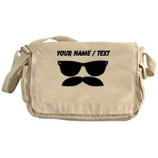 Custom Sunglasses Mustache Messenger Bag