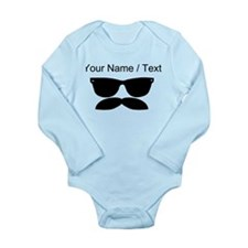 Custom Sunglasses Mustache Body Suit
